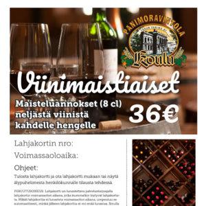 Viinimaistiaiset neljästä viinistä